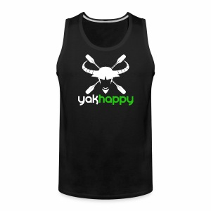 Yakhappy Logo Light - Men's Premium Tank