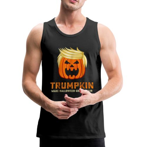 Trumpkin | Halloween Shirt - Men's Premium Tank