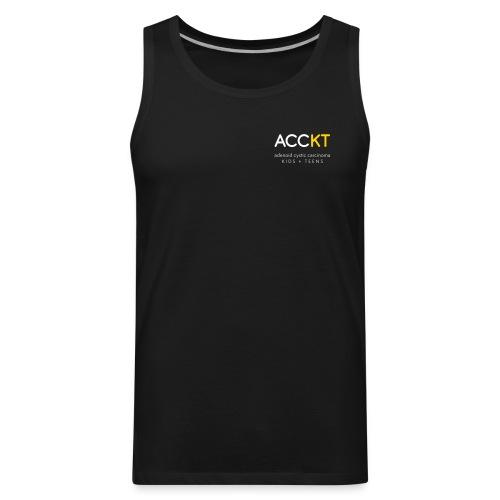 ACCKT - White Logo - Men's Premium Tank
