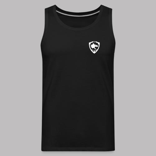 VDV Purge Squad White Logo Design - Men's Premium Tank