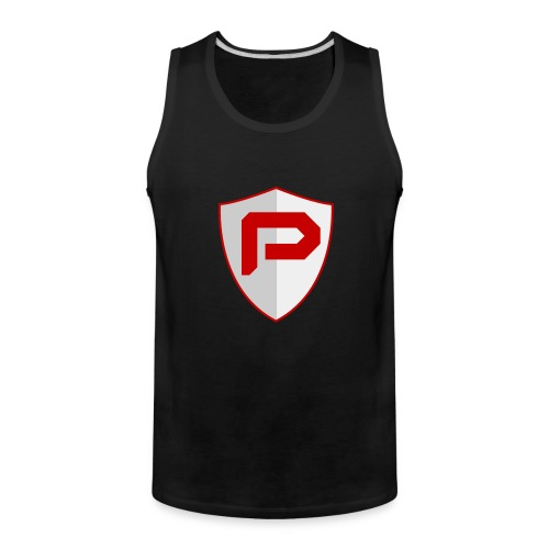 PancakeTekkit Logo - Men's Premium Tank