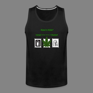 need a ride - Men's Premium Tank