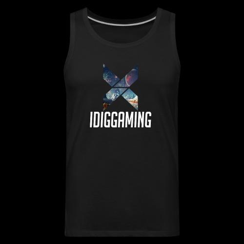 IDIGGAMING Tshirt - Men's Premium Tank