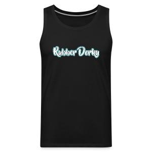 Rubber Dorky - Logo (name) - Men's Premium Tank