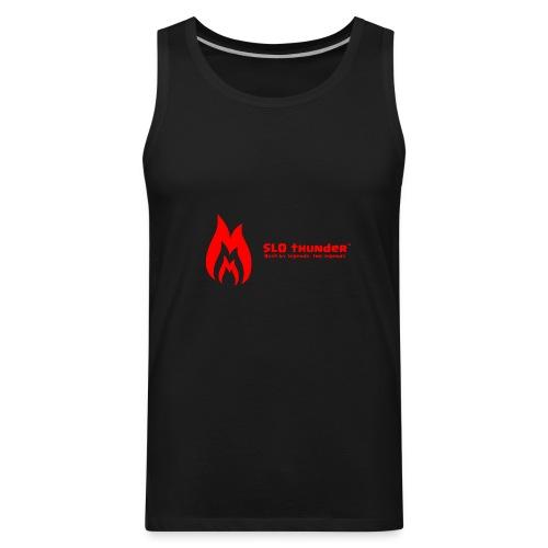 SLO thunder official logo - Men's Premium Tank
