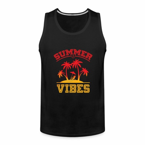 Summer Vibes - Men's Premium Tank