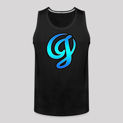 Cool Big Logo - Men's Premium Tank