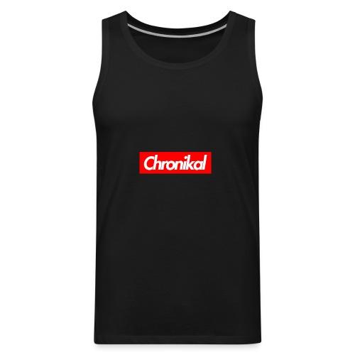 Chronikal Box Logo - Men's Premium Tank