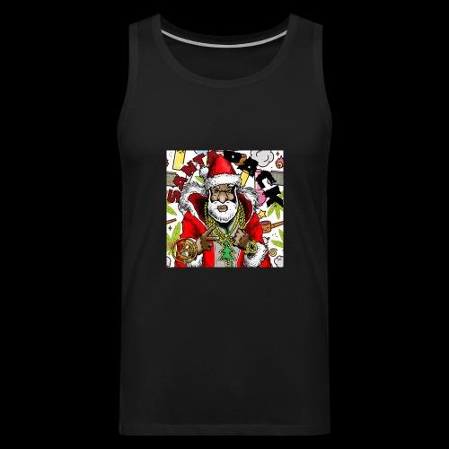 Santa Pack (Christmas Hip-Hop Gear) - Men's Premium Tank