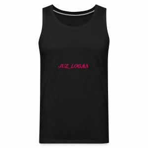 Juz_Friends_Products Juz_LOgan beast - Men's Premium Tank