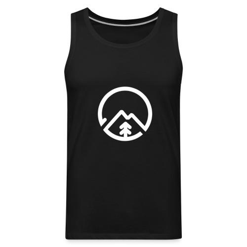 sol apparel white - Men's Premium Tank