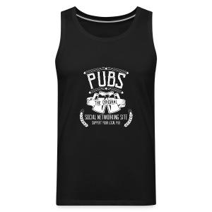 Pub - Social Networking - Men's Premium Tank