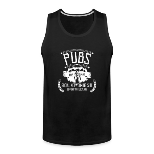 Pub - Social Networking - Men's Premium Tank