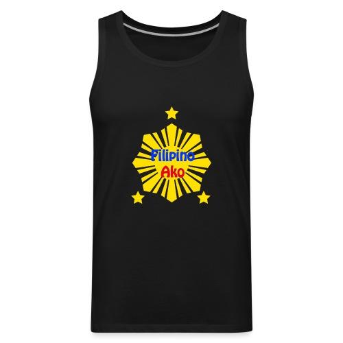 Filipino Ako T Shirt - Men's Premium Tank