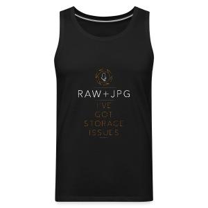For the RAW+JPG Shooter - Men's Premium Tank