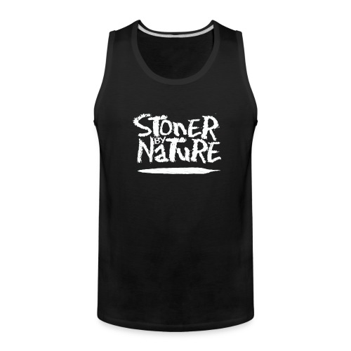 Stoner By Nature Joint white - Men's Premium Tank