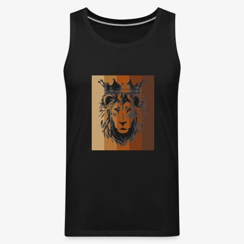 lion colors king - Men's Premium Tank