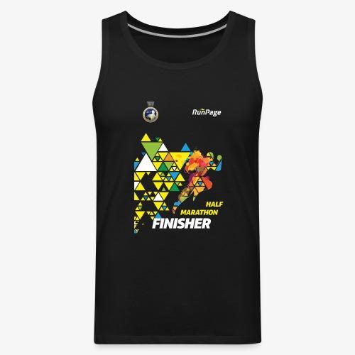 Half Marathon Finisher Shirt - Men's Premium Tank