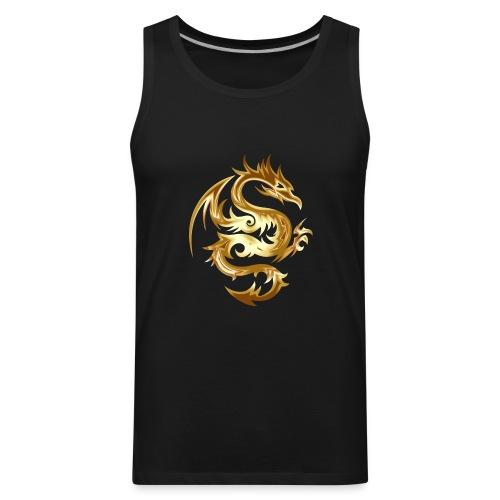 dragon tribal - Men's Premium Tank