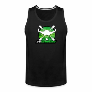 Go Yakking on Green - Men's Premium Tank