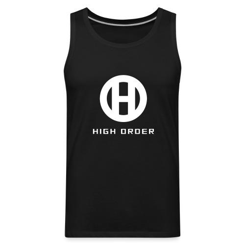 HIGH ORDER CLASSIC WHITE - Men's Premium Tank