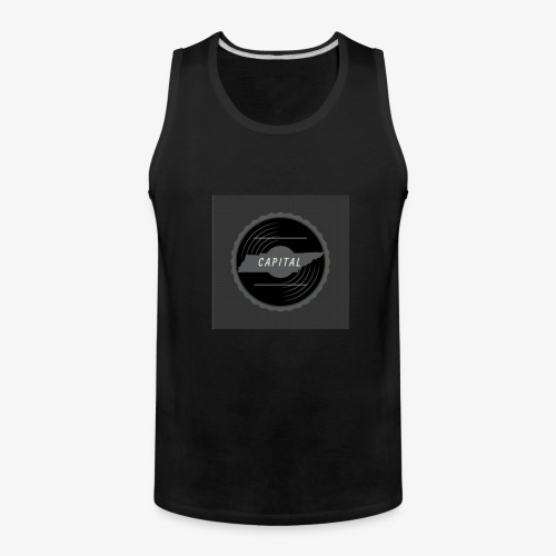 CAPITAL LOGO - Men's Premium Tank