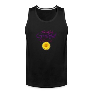 Thankful grateful blessed - Men's Premium Tank