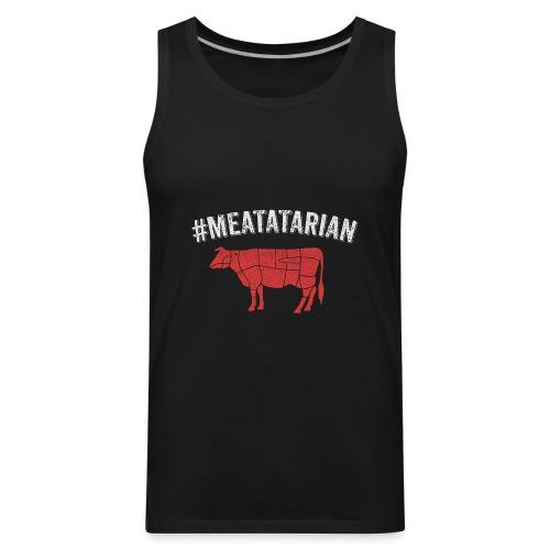 Meatatarian Print - Men's Premium Tank