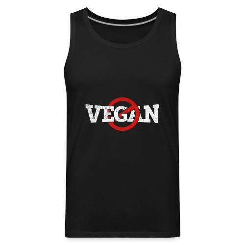X Vegan Print - Men's Premium Tank