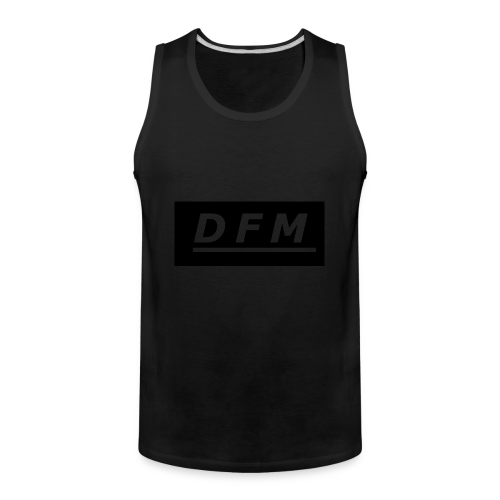 D.F.M Logo Merch - Men's Premium Tank