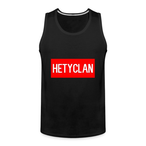 hety shirt - Men's Premium Tank