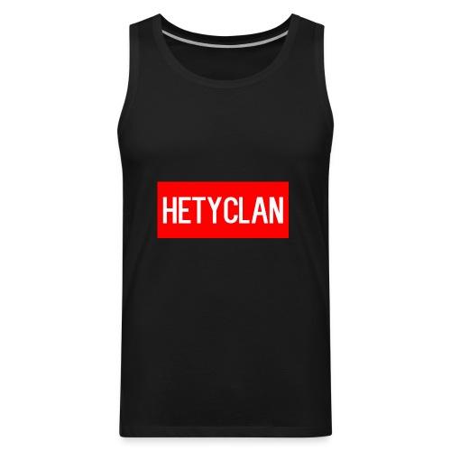 hety shirt - Men's Premium Tank