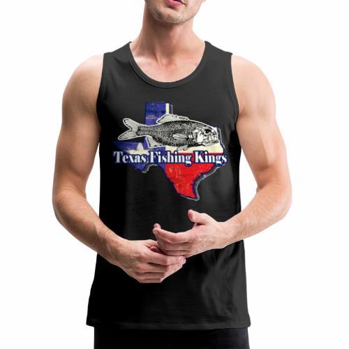Texas Fishing Kings Logo Shirt - Men's Premium Tank