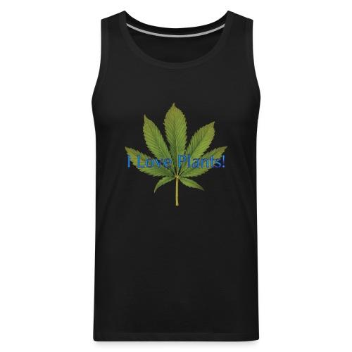 I Love Plants - Men's Premium Tank