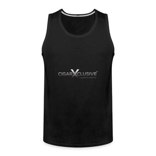 cigarexclusive logo final png - Men's Premium Tank