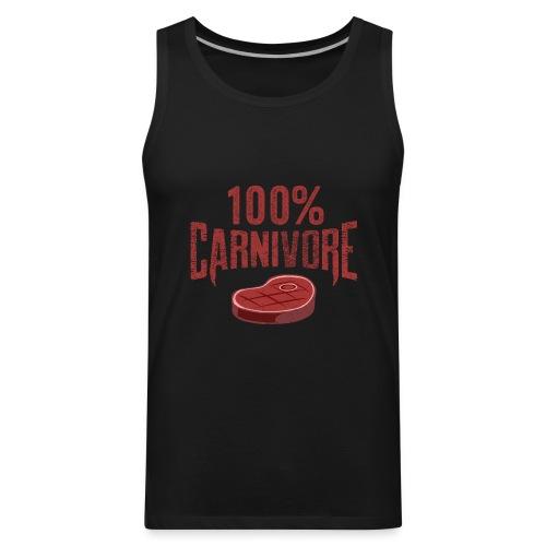 100% Carnivore - Men's Premium Tank