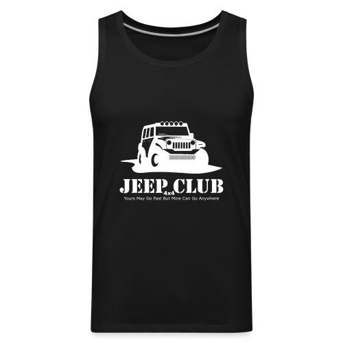 Jeep 4x4 Club - Men's Premium Tank