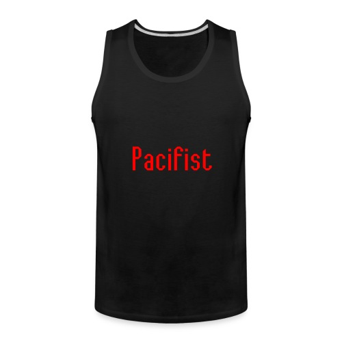 Pacifist T-Shirt Design - Men's Premium Tank