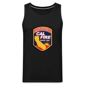 calfire logo T-shirt - Men's Premium Tank