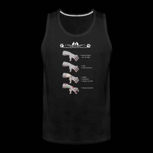 Recognizing People by Hand Scar - Men's Premium Tank