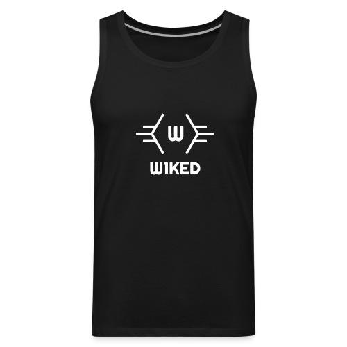 W1KED_Logo - Men's Premium Tank