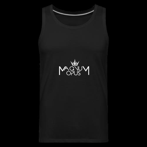 MOCC Magnum Opus WHT - Men's Premium Tank
