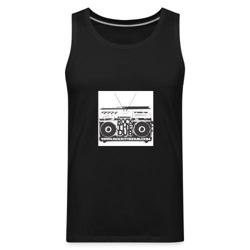 rockthedub.com logo - Men's Premium Tank