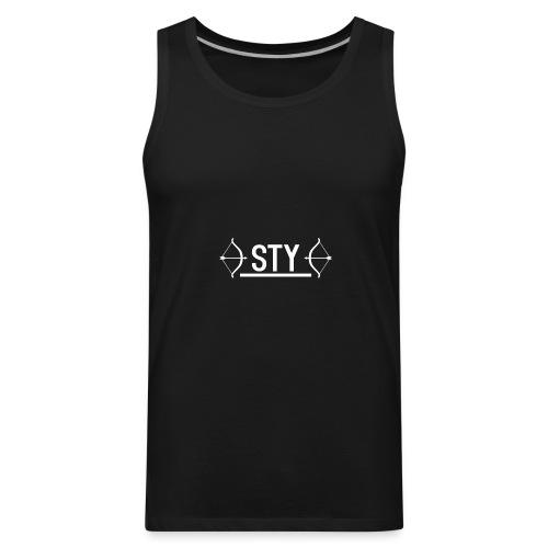 *STY* Logo Design - Men's Premium Tank