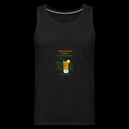Schlong Island Iced Tea - Men's Premium Tank