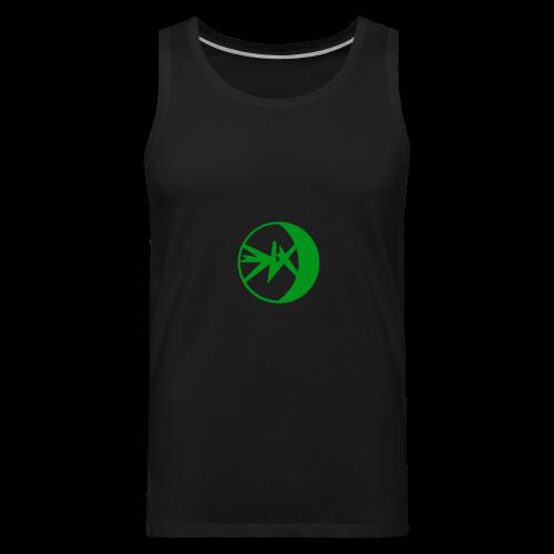 EKlips Clothing Green/Blk - Men's Premium Tank