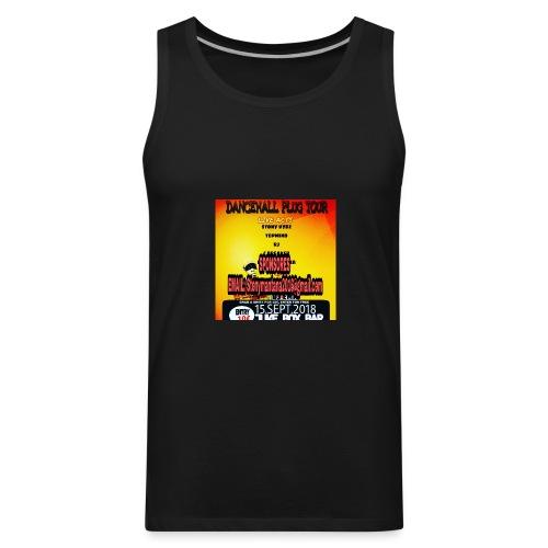 Dancehall plug tour Germany t-shirts TWG MUSIC - Men's Premium Tank