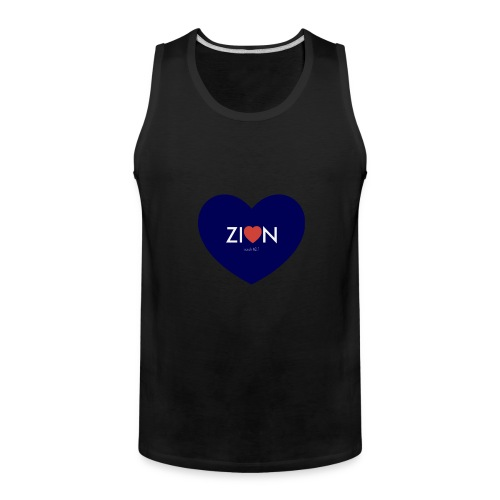 Zion in my heart/ I Won't Keep Silent - Men's Premium Tank