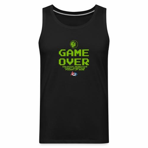 Game over shirt clear - Men's Premium Tank