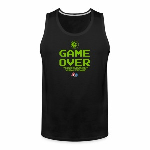Game over shirt clear - Men's Premium Tank